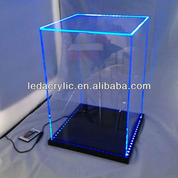 how to build an acrylic display case