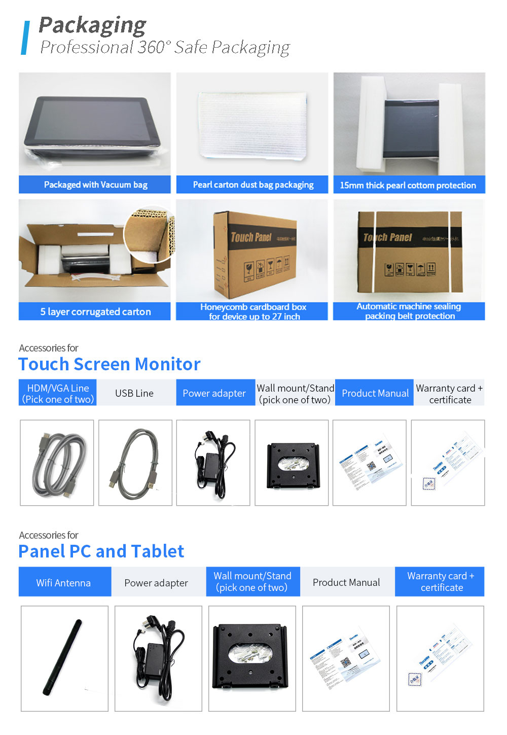 Open Frame 43Inch Wall Mount Android Tablet Home Automation With Touchscreen monitors