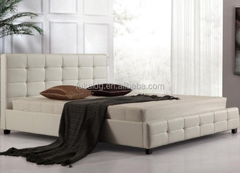 Full Size New Style Pu Bed Modern Soft