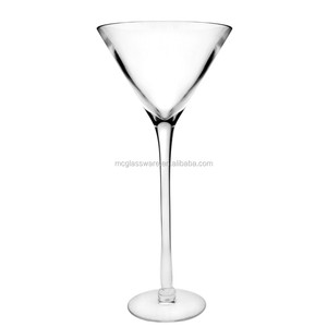 Wholesale Cheap Wedding Decoration Tall Flower Martini Vase