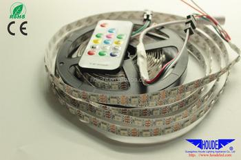 Addressable,Safe Power 5v,Usb Power,30/60/144leds/m Dc5v Digital Rgb  Ws2812b/sk6812/apa102 Addressable Led Strip - Buy Ws2811 Ic Built-in 5050  Rgb Led