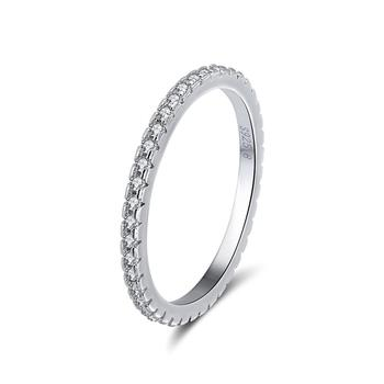 RISR63 925 Sterling Silver Jewelry Wholesale Sample Wedding Ring Design for Women Fashion