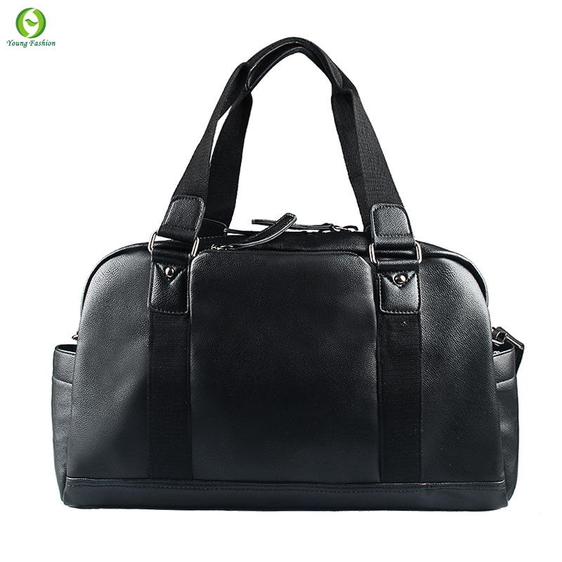 912cfd840a8a Get Quotations · 2015 New Pu Leather Men Travel Bags Large Capacity Men Messenger  Bags Travel Duffle Handbags Brand