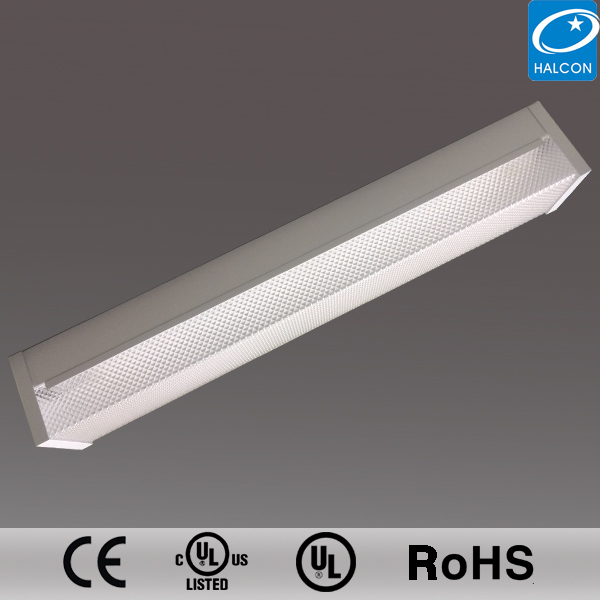 led batten light with prismatic cover