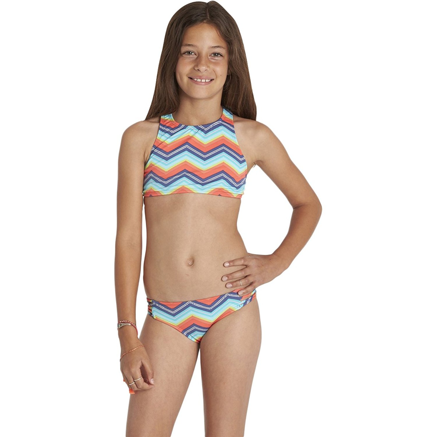 182d28cd28d14 Buy Billabong Girls Ziggyland High Neck Two Piece Swimwear in Cheap Price  on m.alibaba.com