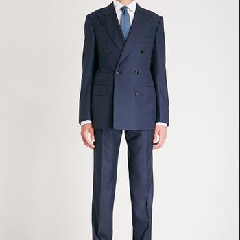 Grooms Men Best Slim Fit Wedding Coat Pant Men Suit Office Uniform