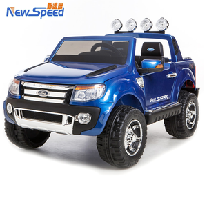 FORD RANGER Licensed Ride on Car 2.4G RC Electric kids car 12V battery double motor two seats ride on cars for kids