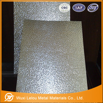 aluminum embossed sheets/plates on stock