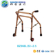 Health Care Supplies aluminum walking aids folding walker with 2 wheels for disabled