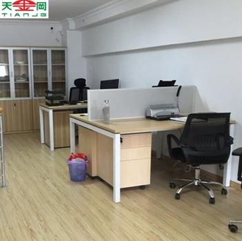 Tjg Kayu Meja Kantor Eksekutif Meja Kantor Desain Dengan Divisi