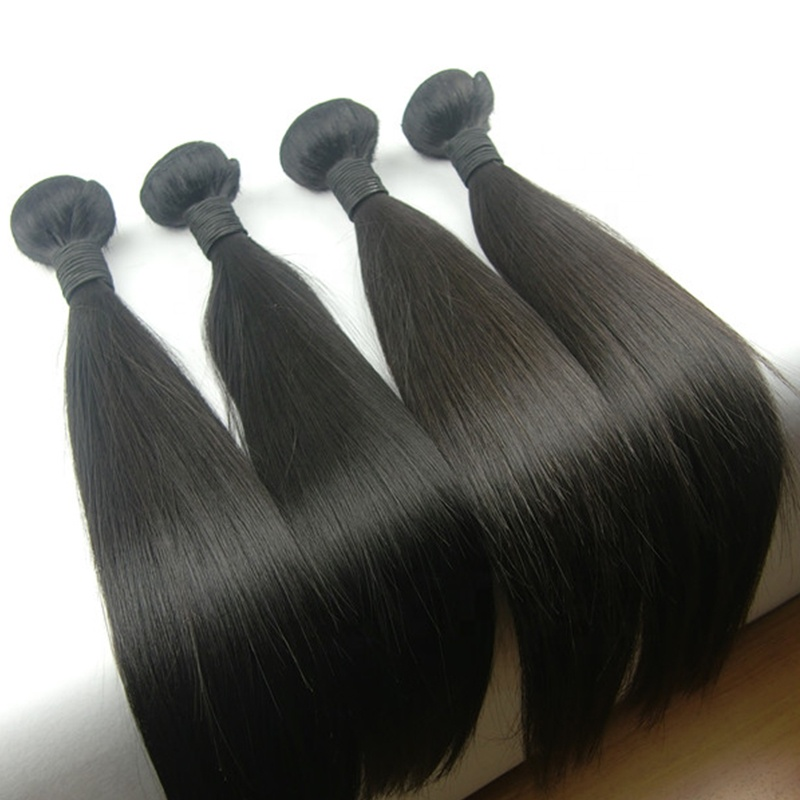 Top Selling 9A Grade Straight Mink Raw Unprocessed Brazilian Hair Cuticle Aligned Hair