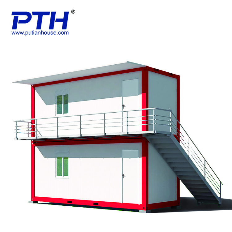 2019 China supplier new low cost mobile prefab house container house with sandwich panel building material