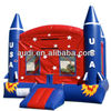 USA Rocket Ship Inflatable Jumper