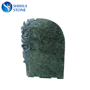 The Finest Material Green Granite Headstone With Best Price