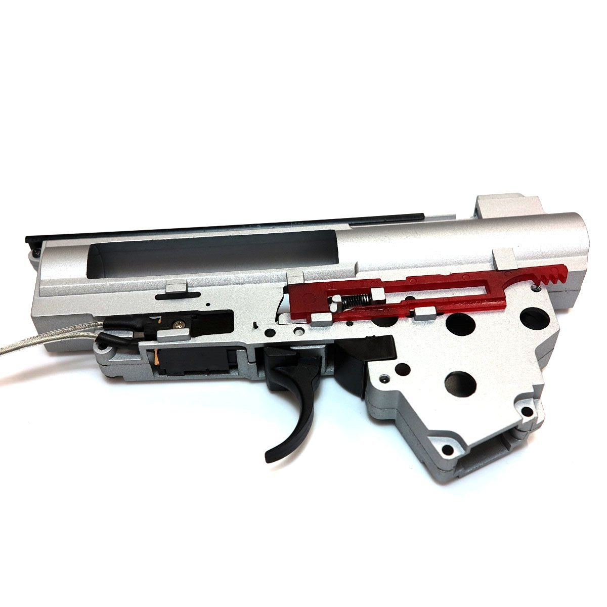 AEG Airsoft Wargame Shooting Gear Army Force QD Transform 8mm AK AEG GearBox Version 3 Rear Line