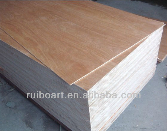 Okoume face and back plywood furniture grade