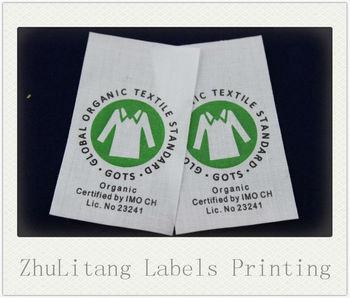 Direct Manufacturer Polycot Blend Fabric Washing Label /warning ...