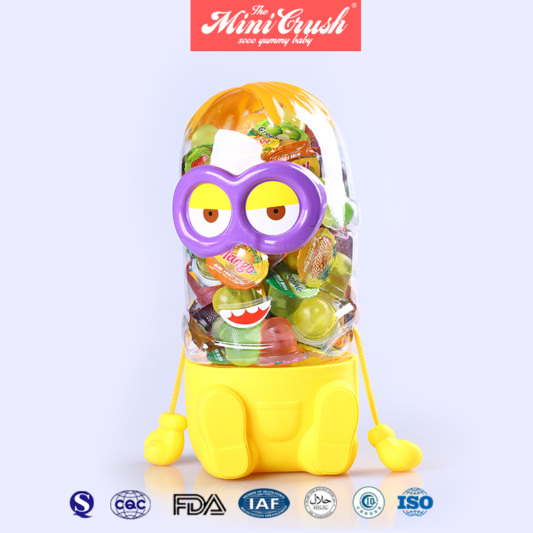 Sweety Soft Candy Assorted Fruit Flavor Gummy Eyeball Jelly Candy