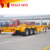 China professional manufacturer new model export top quality gooseneck transport cargo container skeleton semi trailer
