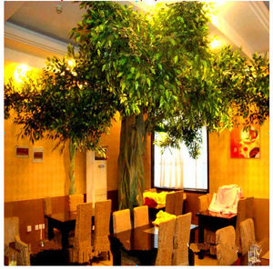 large indoor plants artificial foliage plants wall decoration artificial live ficus tree