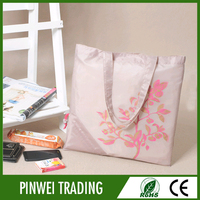 Eco-friendly nylon foldable reusable shopping bag