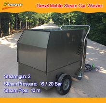 2017 CE 80bar elctric high pressure 30 bar steam car wash machine/used hot water pressure washer for sale