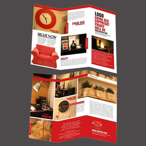 outdoor advertisement sample furniture catalog