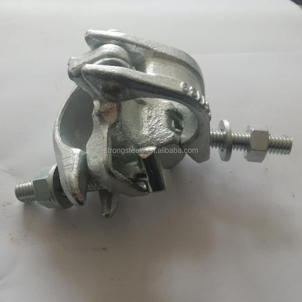 Scaffolding BS1139 Forged Double Fixed Coupler 48.3 * 48.3mm