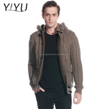 Boyfriend cardigan for Men,winter thick warm Cable Knit Cardigan Sweater
