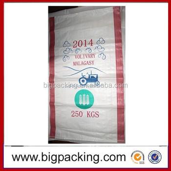 Grain Sack Bag 50kg Recycled Rice Bags Material Wheat Flour,Pp ...