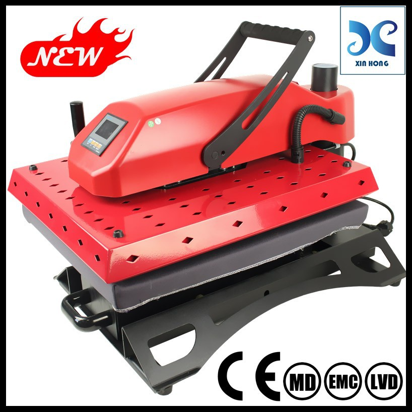 Plastic heat press