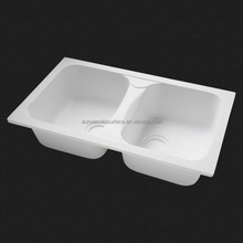 Senior Manufacturer Bathroom Double Sinks/ Hand Wash Acrylic Basin/Acrylic Kitchen Sink