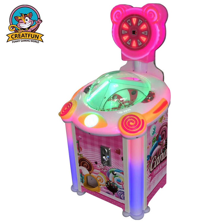 Indoor muntautomaat game machine candy machine lollipop automaat