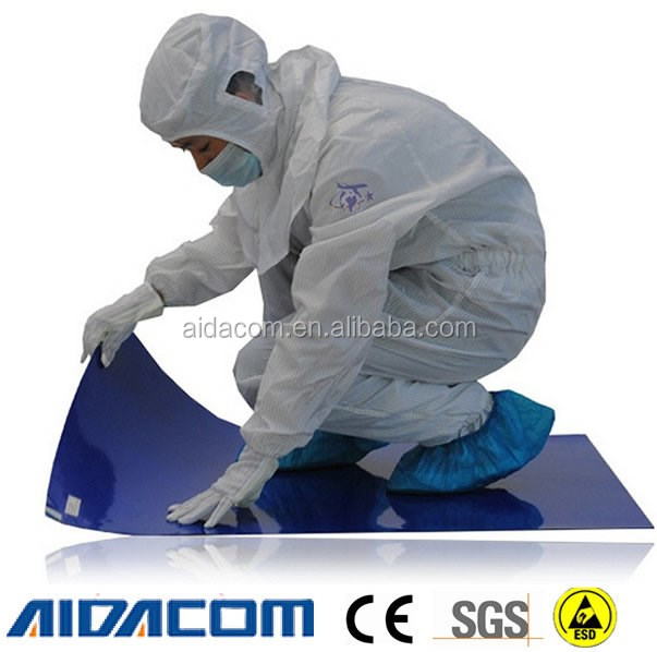 No silicone,DOP,Amide ,LDPE Disposable sticky mat