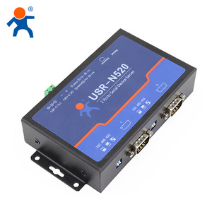 USR-N520 Double Serial Device RS232 RS485 RS422 to Ethernet Server Support Modbus Multi - host Polling