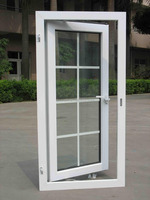 china supplior Vinyl pvc casement windows with