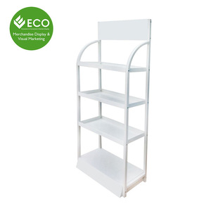 High Quality Large Space Stable Metal Display Rack Shelf For Engine Oil