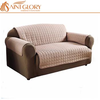 Elastic Strap Micro Suede Sofa
