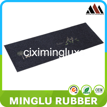 Safty Crossfit Rubber Flooring Mat Weight Lifting Mat For Gym Ground - Weight lifting floor pads