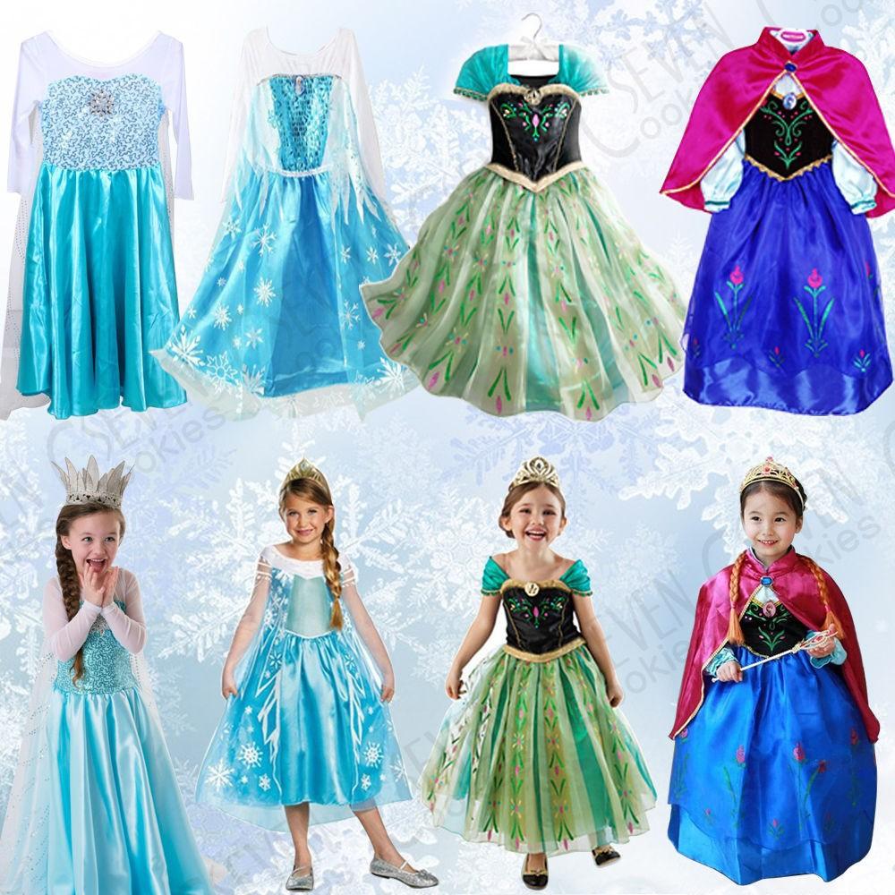 Elsa Kinderen Groothandel Buy Meisje Frozen 77 Bc7000 Jurk f6gIbvY7y