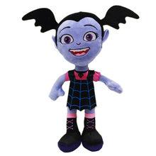 25cm Movie Junior Vampirina Plush Toys Doll The Vamp Batwoman Girl Plush Stuffed Toys Gifts for Children Kids Girls(China)