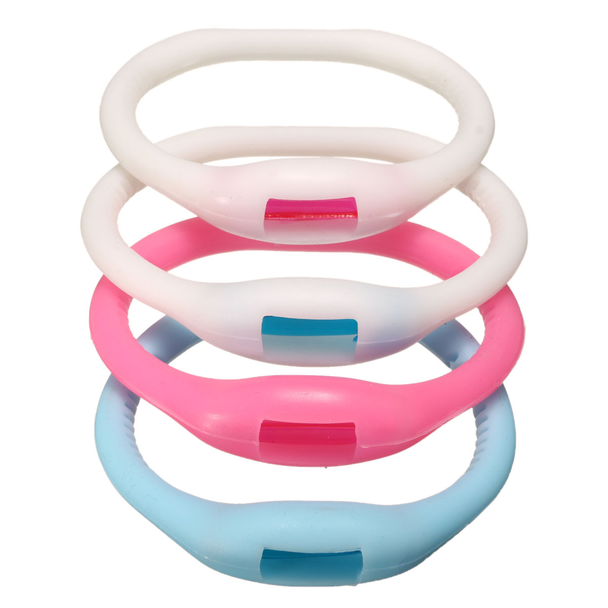 4 Color Pest Control Mosquito Repeller Bracelet For Kids