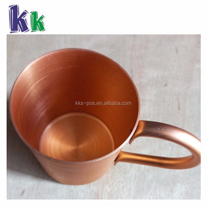 Custom stainless steel bar accessories and copper mugs