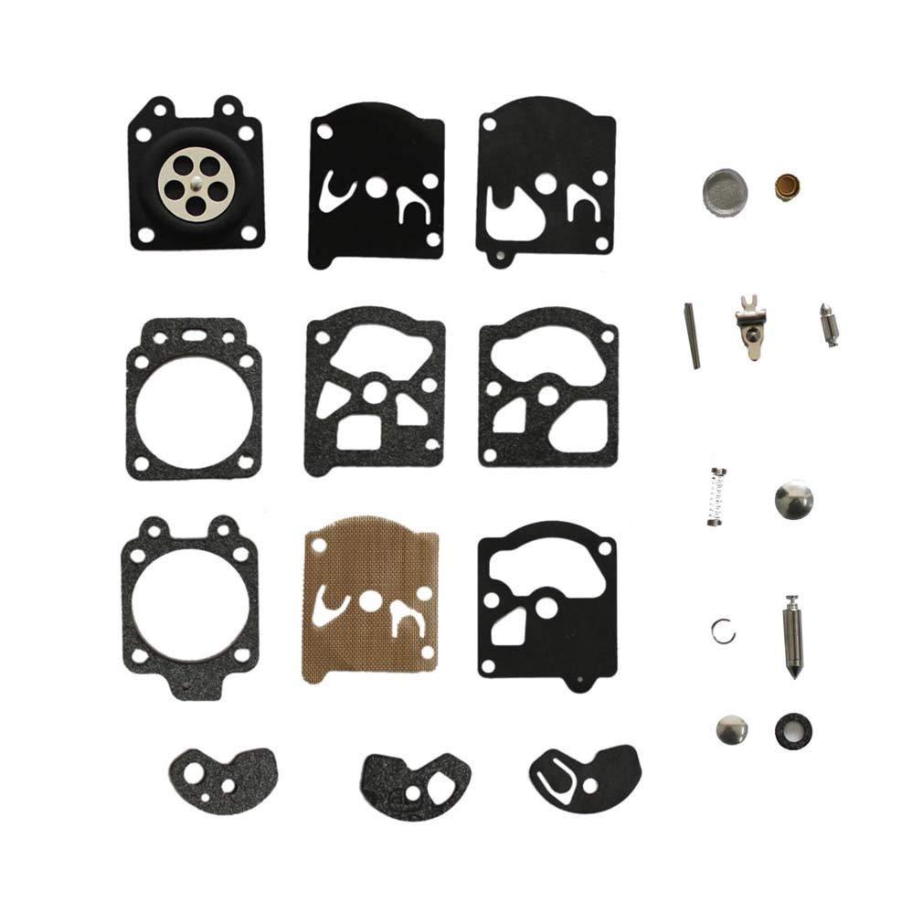 AISEN Carburetor Diaphragm Gakset Repair Rebuild Kit for K10-WAT Echo CS302 CS315 CS361 CS350T HC210 PB210E PB400 SRM4600 4605 SRM190 SRM200
