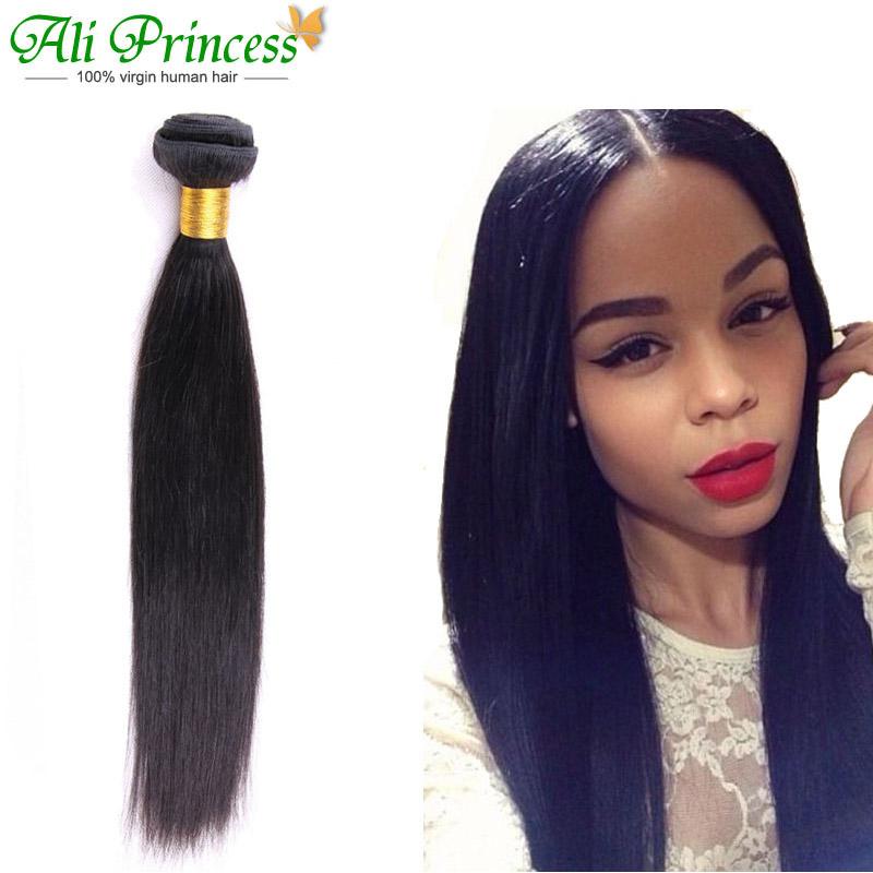 Peruvian Virgin Hair Straight 3pcs lot Peruvian Straight ...