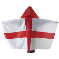 Wholesale durable polyester cape flag top quality all countries England national body flag