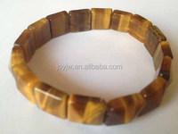 classic style Gemstone tiger eye bracelets Semi-precious stone Bracelet