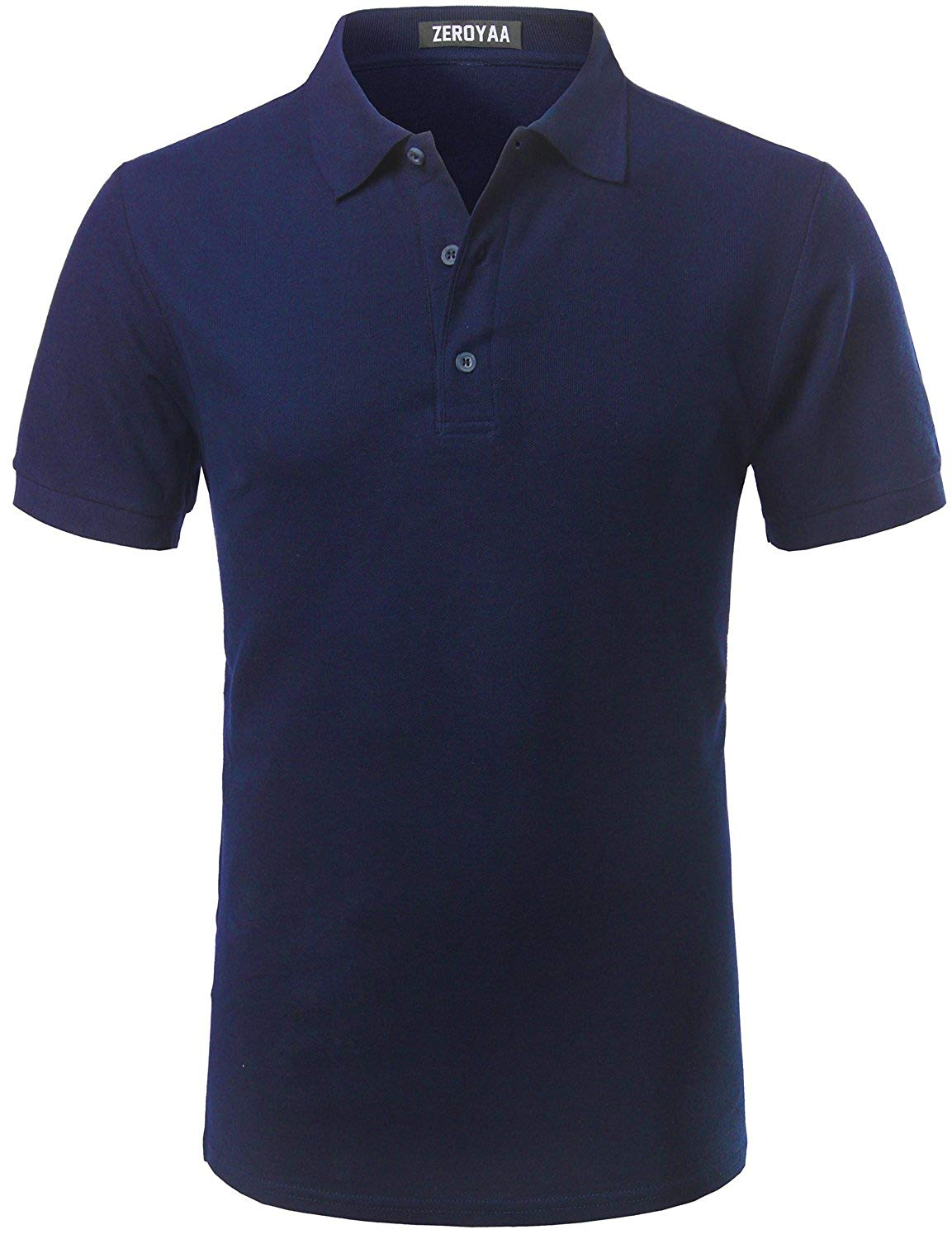 Sonjer Clothing Mens Polo Shirt Short Sleeve Men Cotton Solid Casual Polo Shirts Men Polo Fashion Slim Fit Polos S-3Xl