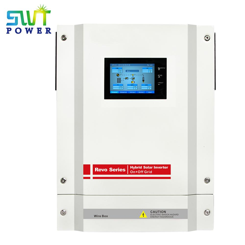 5kw On Off Grid Hybrid Solar Inverter with Energy Storage Single Phase for Hybrid Solar Energy Storage System with Touch Screen