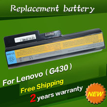 9 cells Laptop Battery For Lenovo 3000 G530 444-23U DC T3400 N500 Series IdeaPad B460 V460A-IFI(A) V460A-IFI(H)
